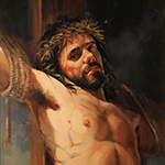 Thumbnail of portrait of Jesus by David Goatley