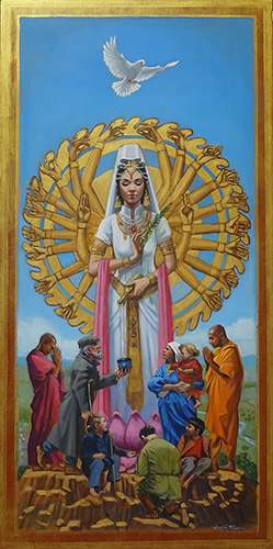 Painting of the Godess Quan Yin