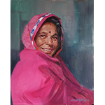 Painting of Indian woman
