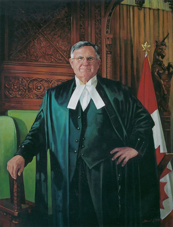 Rt. Hon. Gilbert Parent<br>33rd Speaker of hte House of Commons