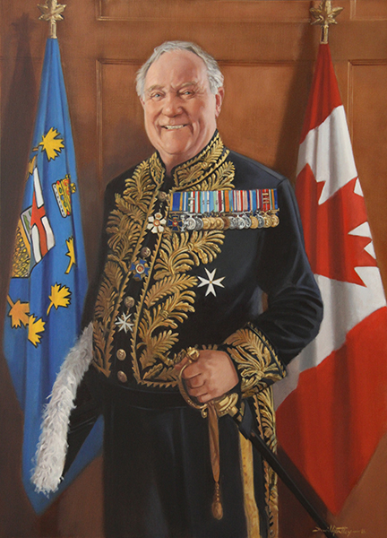 Hon Col. (ret'd) Donald Ethell<br>17th Lt. Governor of Alberta