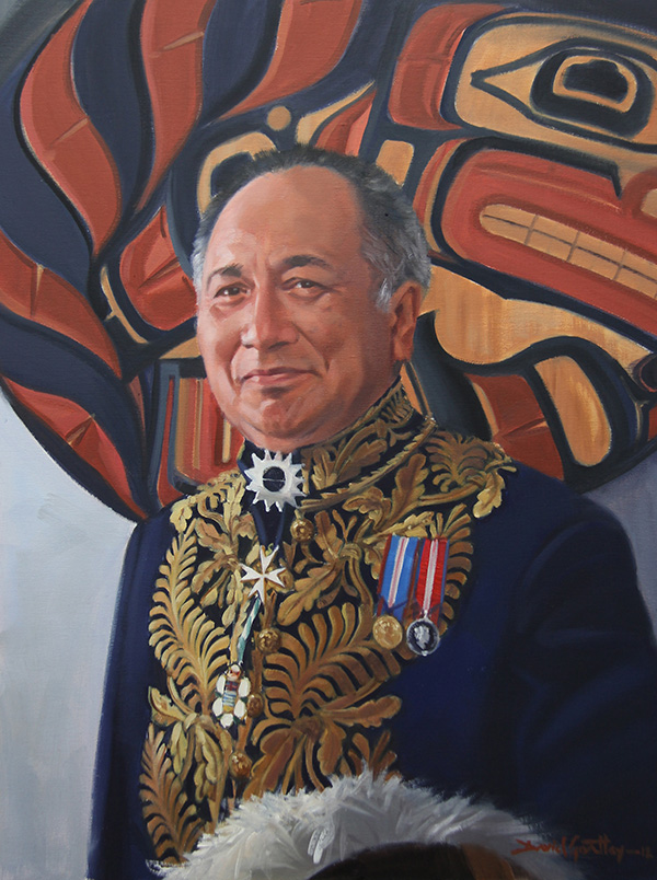 Hon. Steven Point (Xwe li qwel tel)<br>28th Lt. Governor of BC