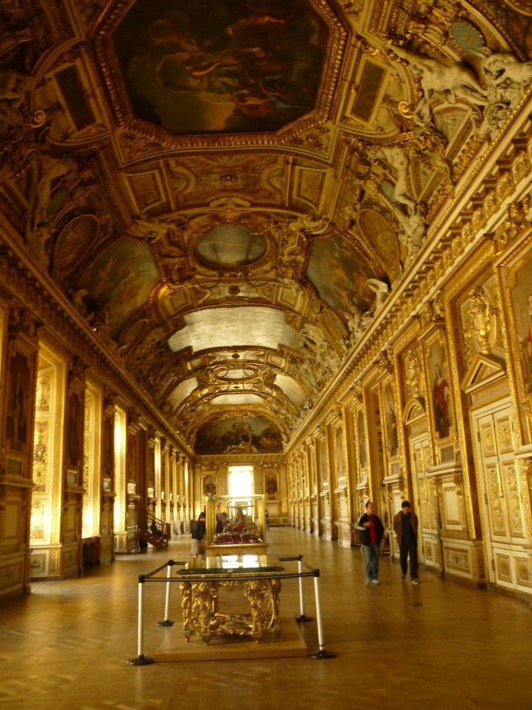 The halls of the Louvre