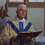 Thumbnail of portrait of Father Francis in chapel