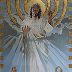 Thumbnail of painting of Christ as Savior by David Goatley
