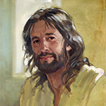 Thumbnail of painting of Christ by David Goatley