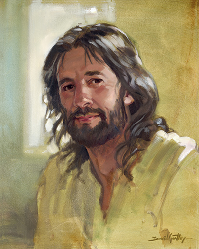 Painting of Jesus by David Goatley