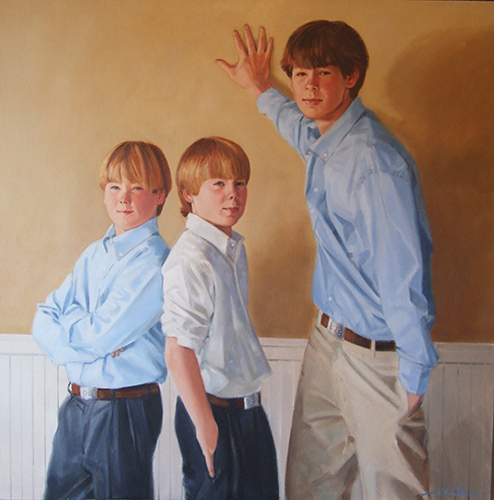 Portrait of 3 boys